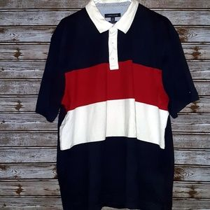 ⭐Tommy Hilfiger Men's Red White & Blue XXL Shirt⭐
